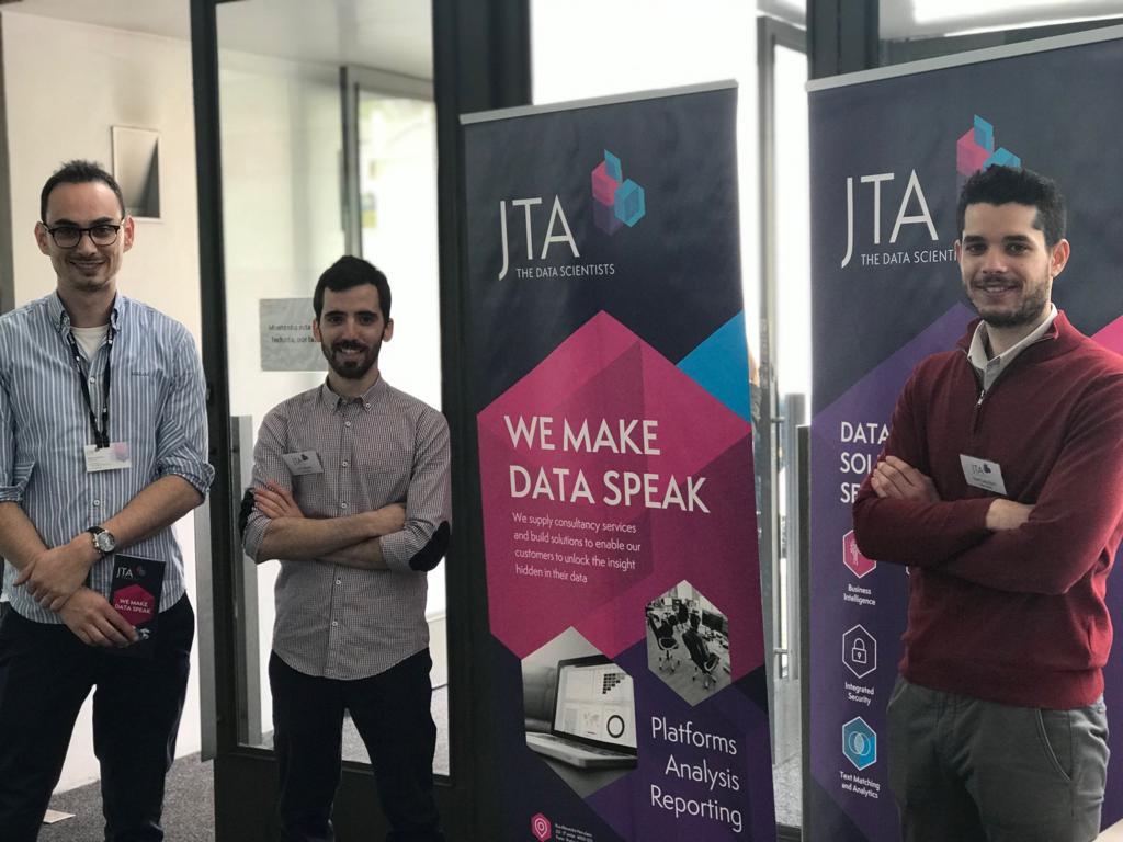 JTA team at the TSA2Market Job Fair